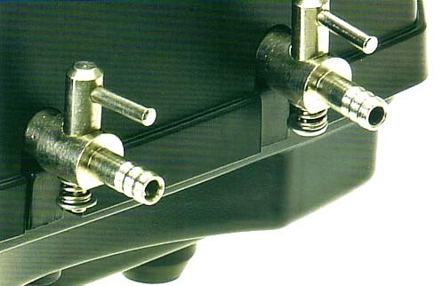 Oase AquaOxy 450 Pond Aeration Pump - Air Output Control Valves