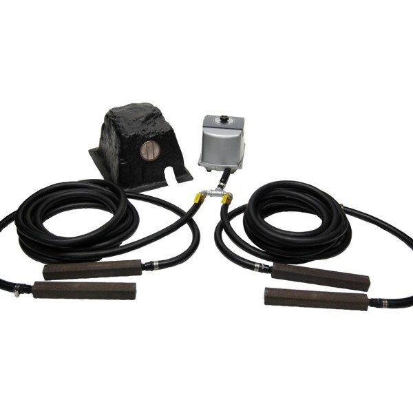 Hakko hk 100l pond air pump kit for 100 gallon pond pump