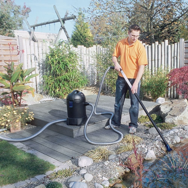 Vacuuming the Pond is a Breeze with the Oase Pondovac Classic Pond Vacuum