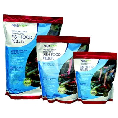 Aquascape Premium Color Enhancing Fish Food Pellets