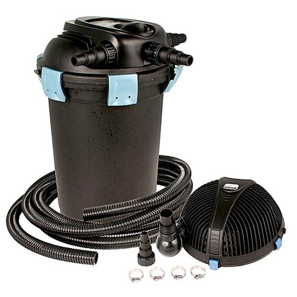 Aquascape ultraklean 3500 pond filtration kit 3 500 for Pond filter kit