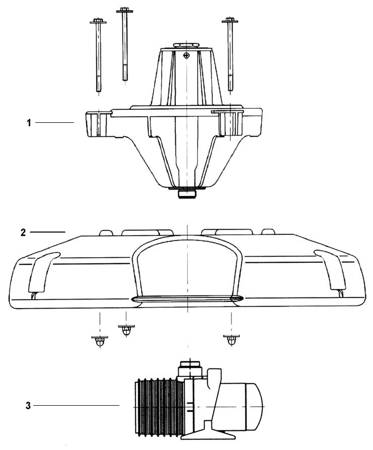 Oase PondJet Floating Fountain - Replacement Parts