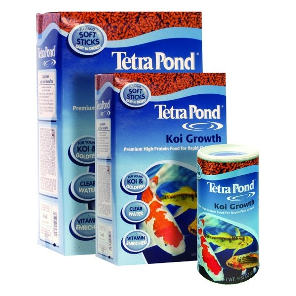 Tetra pond koi growth fish koi food for Best food for koi fish