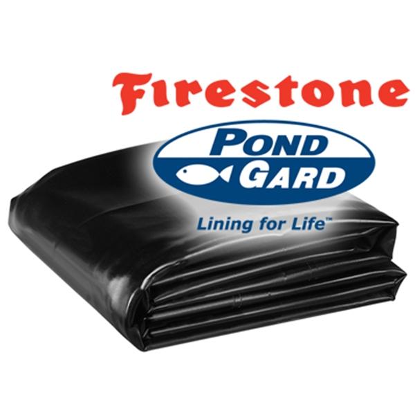 Firestone pondgard 45 mil epdm pond liner 35 ft width for Epdm pond liner