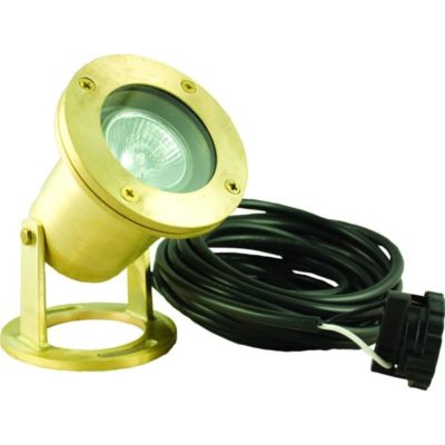 Pond Force Brass LED Pond Light
