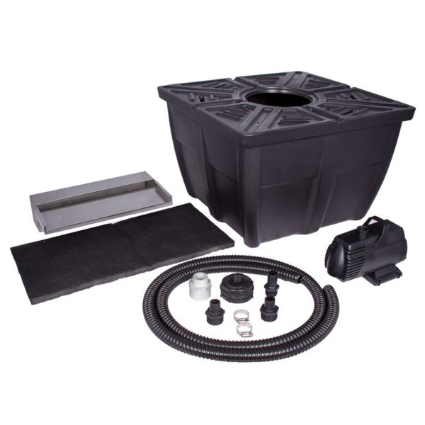 Aquascape waterwall spillway kit 16 spillway truck for Aquascape pond kit