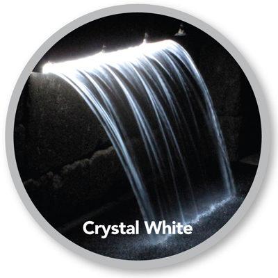 Atlantic Water Gardens ColorFalls - Crystal White