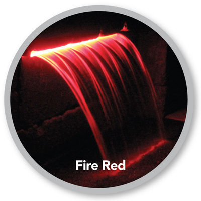 Atlantic Water Gardens ColorFalls - Fire Red