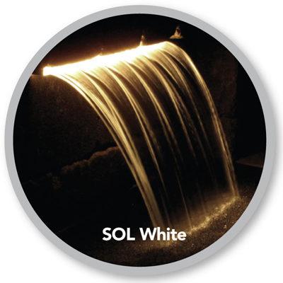 Atlantic Water Gardens ColorFalls - SOL White