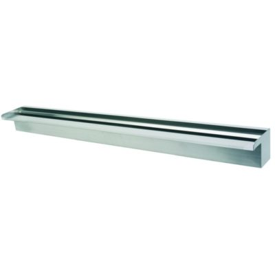 "Calais 36"" Sheer Falls Stainless Steel Waterfall Weir"