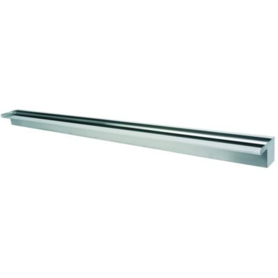 "Calais 60"" Sheer Falls Stainless Steel Waterfall Weir"