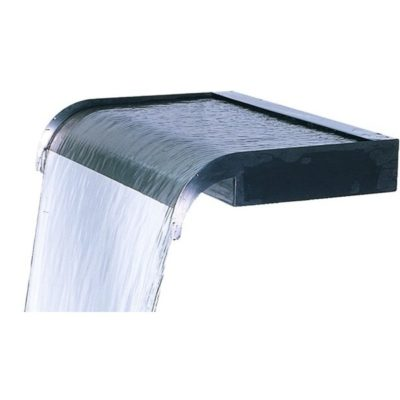 "Calais 12"" Sheer Cascade Stainless Steel Waterfall Weir"