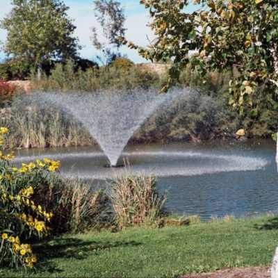 Kasco Marine 4400VFX Floating Aerating Fountains - 1 HP - 2/3 Acre Ponds