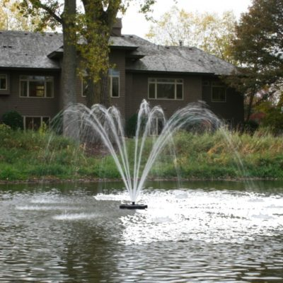 Kasco Marine 4400JF Floating Aerating Fountains - 1 HP - 1/2 Acre Ponds