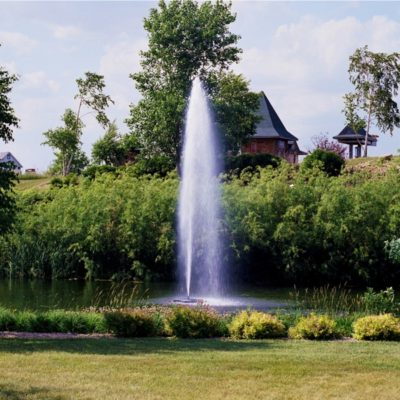 Kasco Marine 8400JF & 2.3JF Floating Aerating Fountains - 2 HP - 1 Acre Ponds