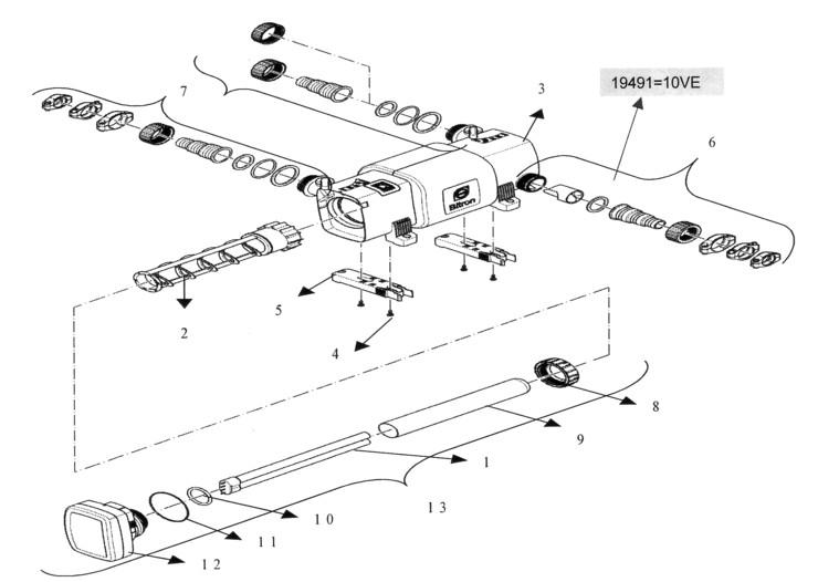 Oase Bitron C UV Clarifiers - Replacement Parts
