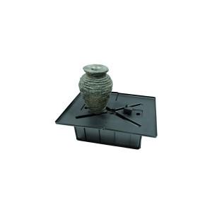Aquascape Stacked Slate Urn Mini Fountain Kit