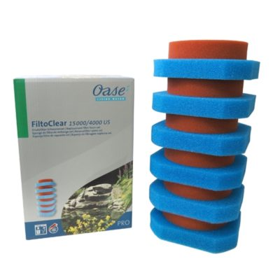 Oase FiltoClear 4000 Replacement Foam Filter Set