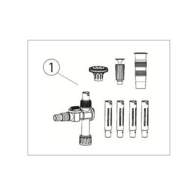 Aquascape AquaJet 1300 Replacement Fountain Kit
