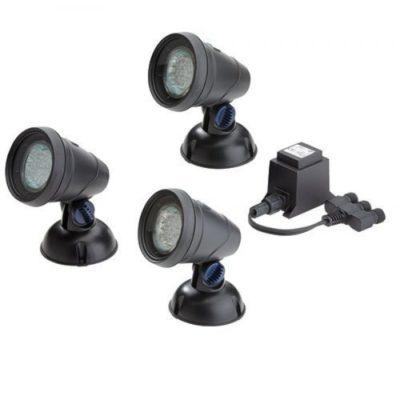 Oase LunAqua Classic LED Pond 3-Light Set - Replacement Parts