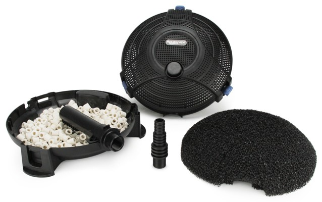Aquascape submersible pond filter 800 gallon ponds for Large pond pumps and filters