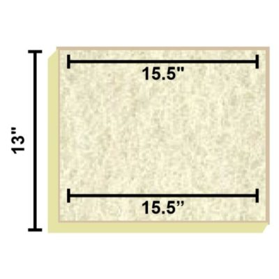 Replacement Filter Mat 15.5 x 15.5 x 13