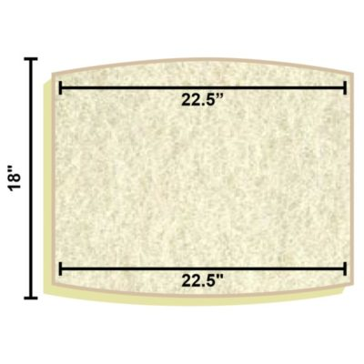 Replacement Filter Mat 22.5 x 22.5 x 18
