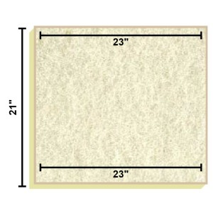 Replacement Filter Mat 23 x 23 x 21