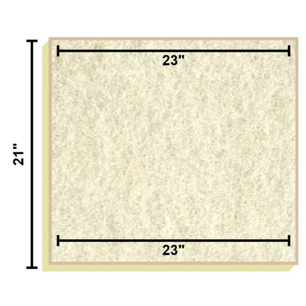 Replacement Filter Mat 23 x 23 x 21