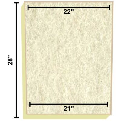 Replacement Filter Mat 22 x 21 x 28