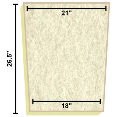 Replacement Filter Mat 21 x 18 x 26.5