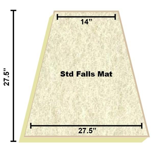 Replacement Filter Mat 14 x 27.5 x 27.5