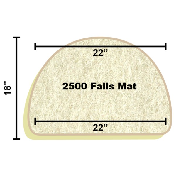 Replacement Filter Mat 22 x 22 x 18
