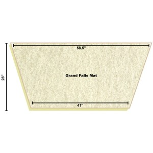 Replacement Filter Mat 58.5 x 41 x 28