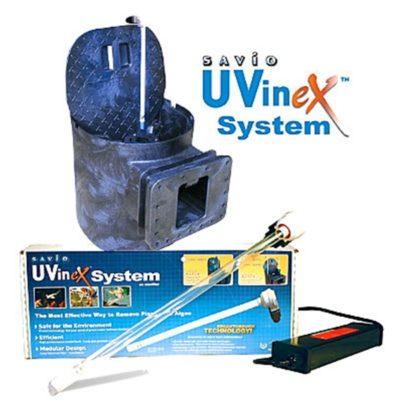 Savio Compact Skimmerfilter 18 Watt UVinex UV Clarifier
