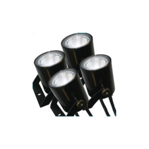 Kasco LED4S19 Stainless Steel LED 4 Light Set