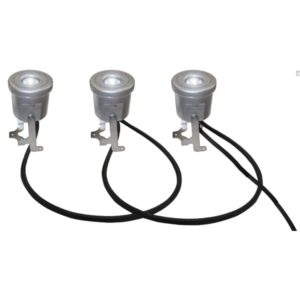 Kasco LED3S19 Stainless Steel LED 3 Light Kit