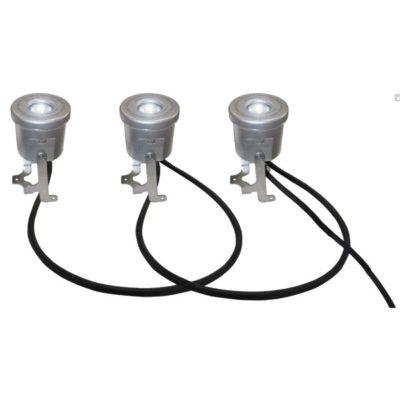Kasco LED3S19 Stainless Steel LED 3 Light Kit