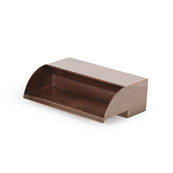 "Atlantic Water Gardens 12"" Copper Finish Scupper"