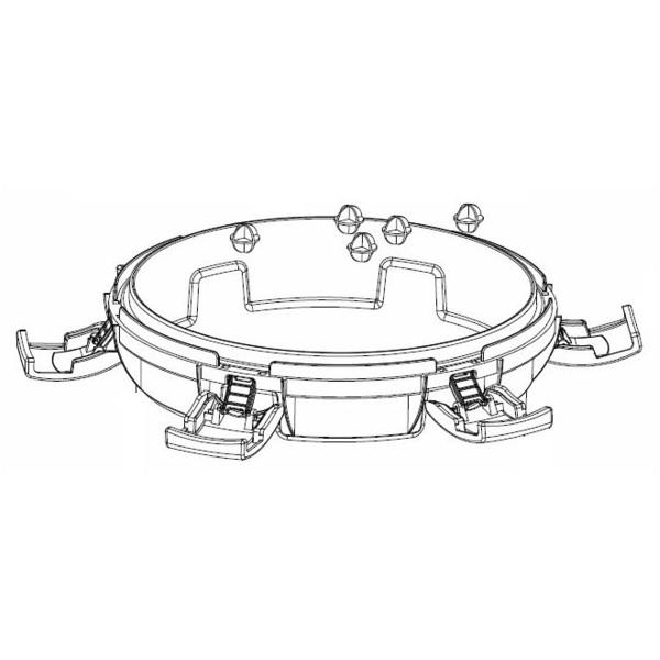 Aquascape UltraKlean 2000 3500 Replacement Clip Kit