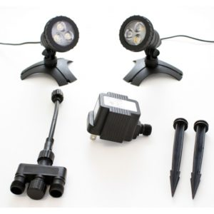 Pond Force 3 Watt LED Pond 2 Light Set