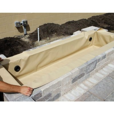 Flexible Fountain Basins