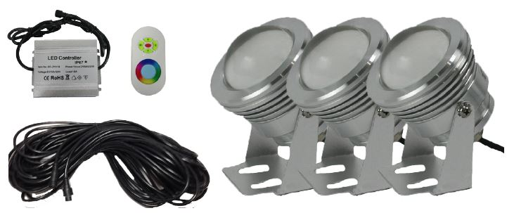 ProEco Products FF-8000 Floating Fountain - LED Light Kit