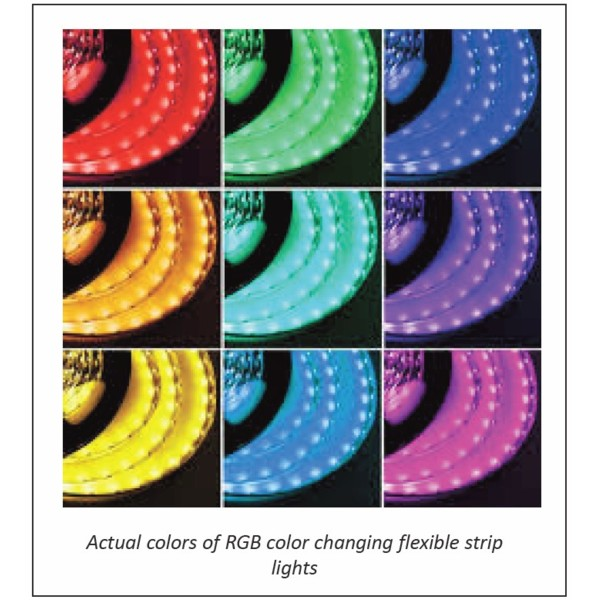 ProEco Products LED Tape Light - 15 Ft  - RGB - FREE SHIPPING