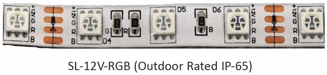 ProEco Products Tape Light - RGB - Light Strip IP-65