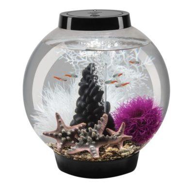 biOrb Classic 15 Aquarium Set - Black - Pebble