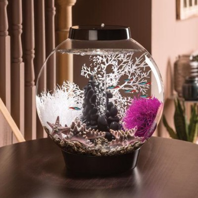 biOrb Classic 15 Aquarium Set - Black - Pebble A