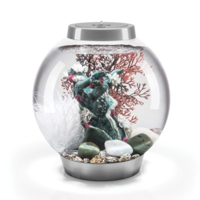 biOrb Classic 15 Aquarium Set - Silver - Flower Blossom
