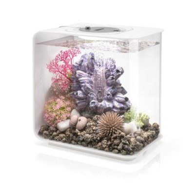 biOrb Flow 15 Aquarium with Multicolor Remote Control - White