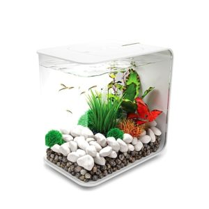biOrb Flow 15 Aquarium with Standard LED Lighting - White